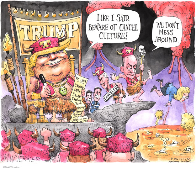 Matt Wuerker  Matt Wuerker's Editorial Cartoons 2021-03-01 conservatism