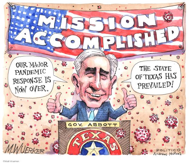 Matt Wuerker  Matt Wuerker's Editorial Cartoons 2021-03-04 state politician