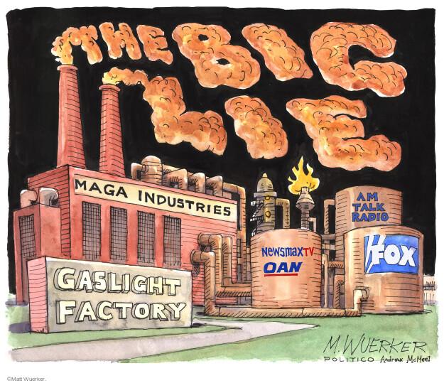 Matt Wuerker  Matt Wuerker's Editorial Cartoons 2021-03-24 conspiracy