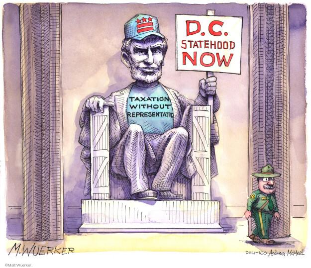Matt Wuerker  Matt Wuerker's Editorial Cartoons 2021-04-20 Washington