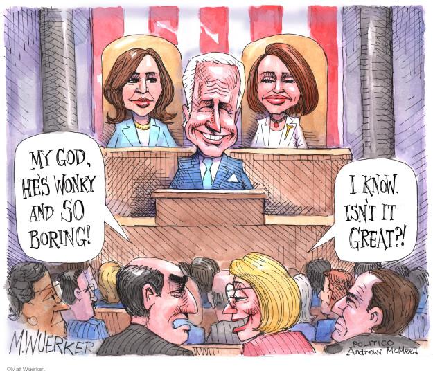 Matt Wuerker  Matt Wuerker's Editorial Cartoons 2021-04-28 presidential administration