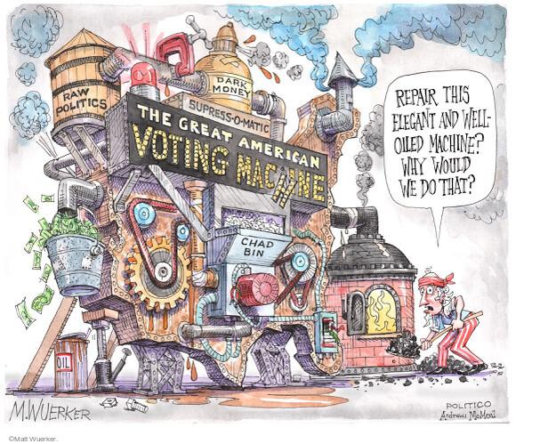 Matt Wuerker  Matt Wuerker's Editorial Cartoons 2021-05-17 voter