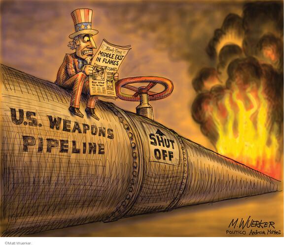 Matt Wuerker  Matt Wuerker's Editorial Cartoons 2021-05-21 war