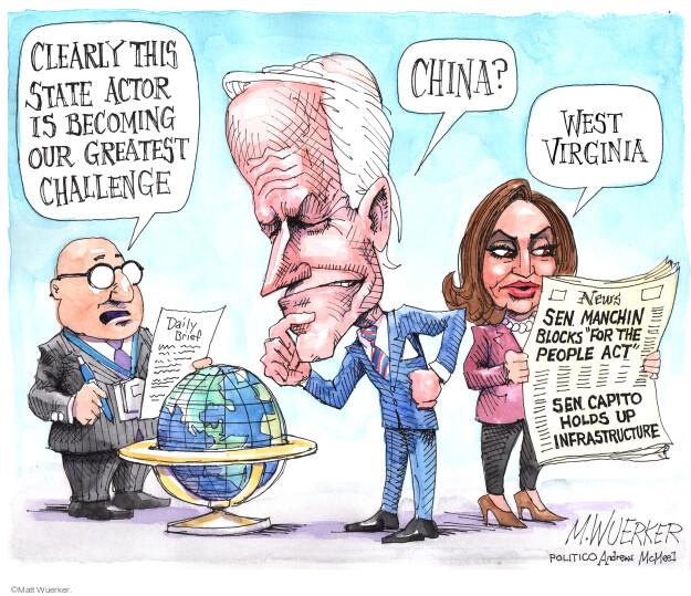 Matt Wuerker  Matt Wuerker's Editorial Cartoons 2021-06-08 presidential administration