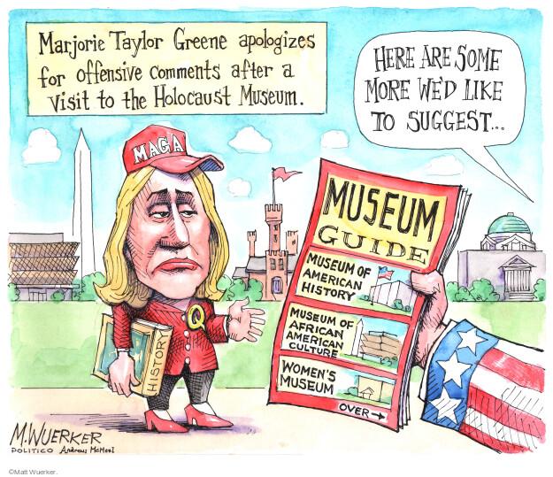 Matt Wuerker  Matt Wuerker's Editorial Cartoons 2021-06-15 republican