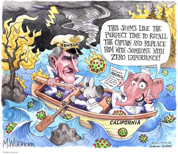 Matt Wuerker  Matt Wuerker's Editorial Cartoons 2021-09-08 republican