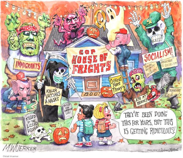 Matt Wuerker  Matt Wuerker's Editorial Cartoons 2021-10-13 get