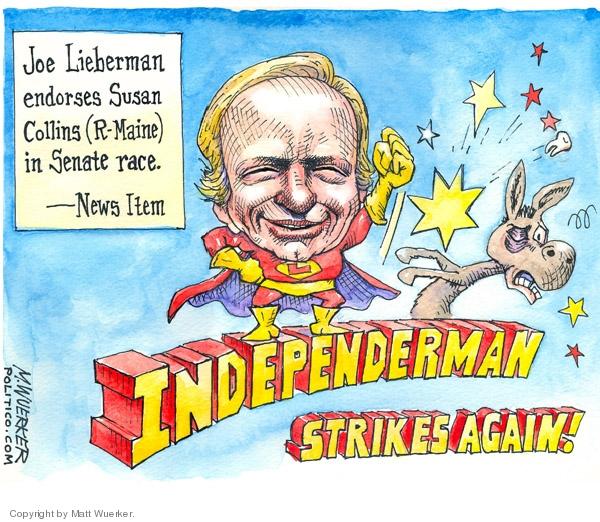 Matt Wuerker  Matt Wuerker's Editorial Cartoons 2007-04-25 partisanship
