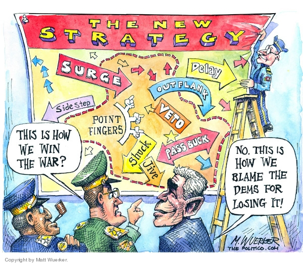 Cartoonist Matt Wuerker  Matt Wuerker's Editorial Cartoons 2007-05-02 accountability