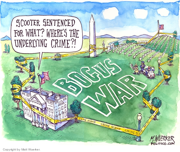Cartoonist Matt Wuerker  Matt Wuerker's Editorial Cartoons 2007-06-06 accountability