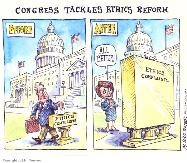 Matt Wuerker  Matt Wuerker's Editorial Cartoons 2007-06-14 congressional scandal