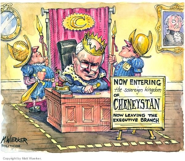 Matt Wuerker  Matt Wuerker's Editorial Cartoons 2007-06-26 branch of government
