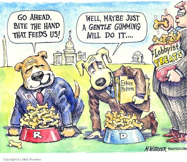 Cartoonist Matt Wuerker  Matt Wuerker's Editorial Cartoons 2007-07-10 republican democrat