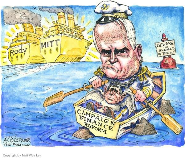 Matt Wuerker  Matt Wuerker's Editorial Cartoons 2007-07-18 Rudy Giuliani