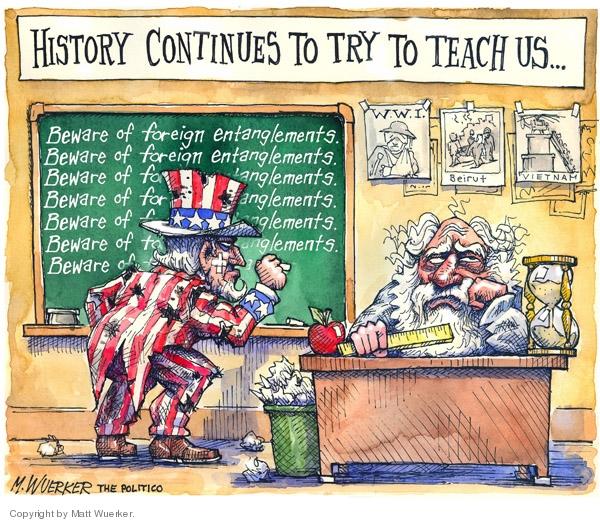 Cartoonist Matt Wuerker  Matt Wuerker's Editorial Cartoons 2007-07-19 quotation