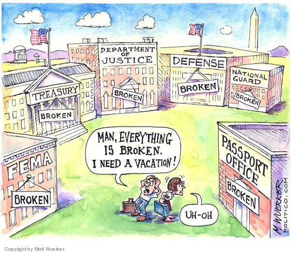 Matt Wuerker  Matt Wuerker's Editorial Cartoons 2007-07-24 government