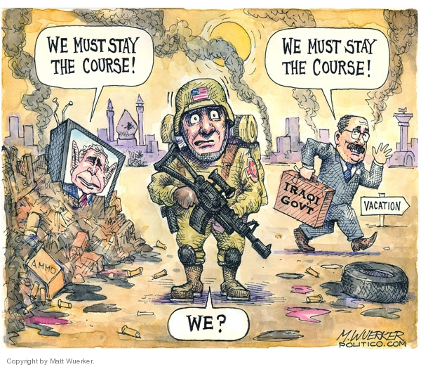 Cartoonist Matt Wuerker  Matt Wuerker's Editorial Cartoons 2007-07-25 government