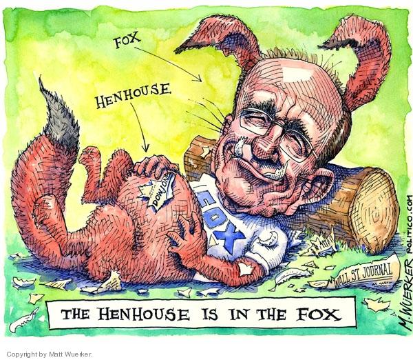 Cartoonist Matt Wuerker  Matt Wuerker's Editorial Cartoons 2007-08-03 media bias