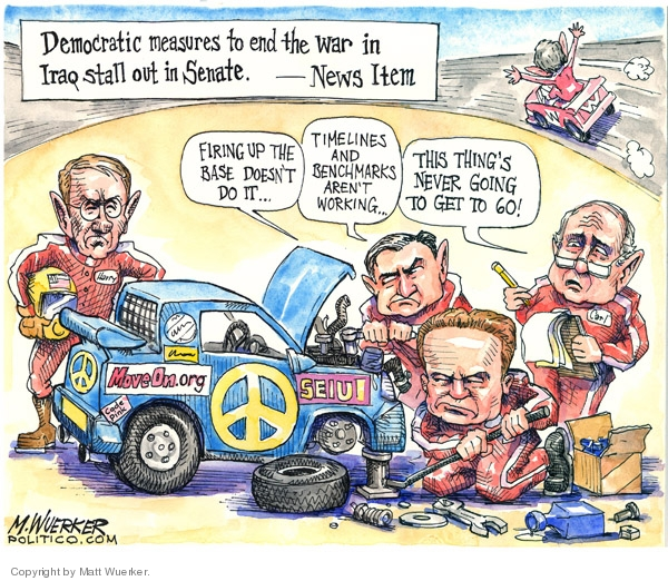 Matt Wuerker  Matt Wuerker's Editorial Cartoons 2007-09-27 news