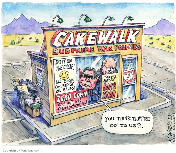 Cartoonist Matt Wuerker  Matt Wuerker's Editorial Cartoons 2007-10-09 Dick Cheney