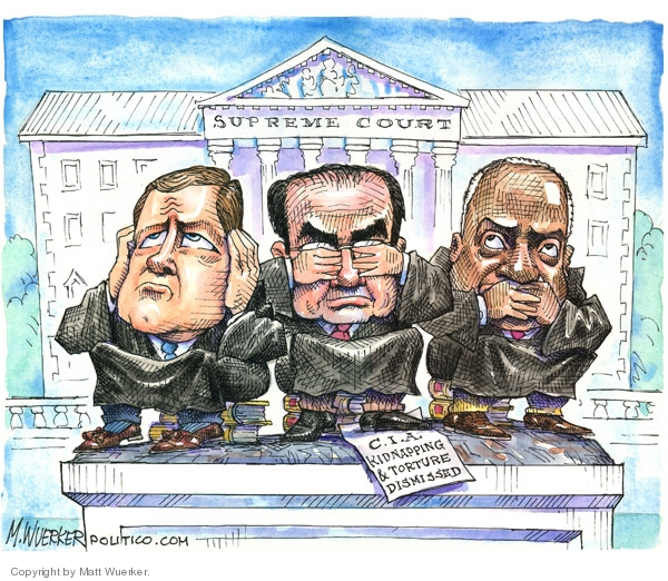 Cartoonist Matt Wuerker  Matt Wuerker's Editorial Cartoons 2007-10-11 CIA