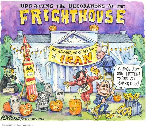 Matt Wuerker  Matt Wuerker's Editorial Cartoons 2007-10-24 Halloween