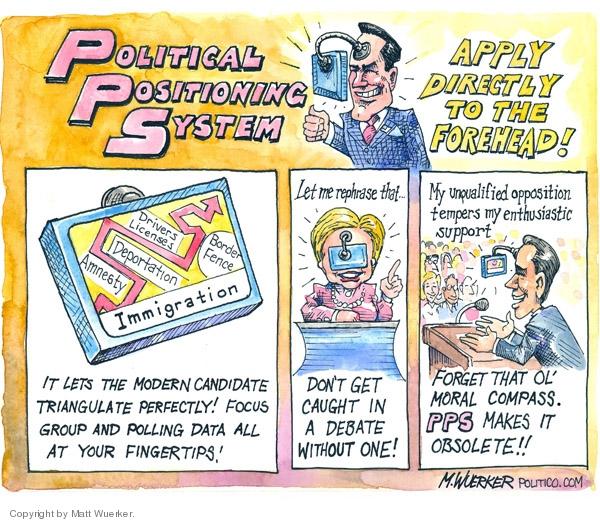 Matt Wuerker  Matt Wuerker's Editorial Cartoons 2007-11-06 position