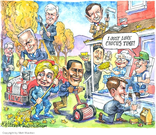 Cartoonist Matt Wuerker  Matt Wuerker's Editorial Cartoons 2007-11-14 Chris