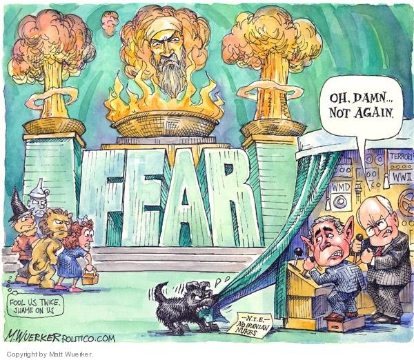 Matt Wuerker  Matt Wuerker's Editorial Cartoons 2007-12-05 shame