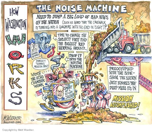 Matt Wuerker  Matt Wuerker's Editorial Cartoons 2007-09-27 mission