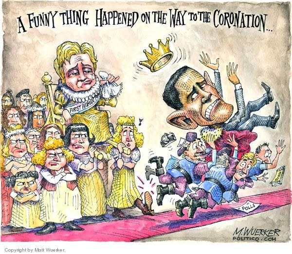 Matt Wuerker  Matt Wuerker's Editorial Cartoons 2008-01-10 Iowa election