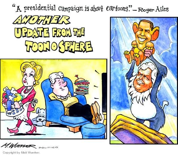 Cartoonist Matt Wuerker  Matt Wuerker's Editorial Cartoons 2008-01-31 quotation