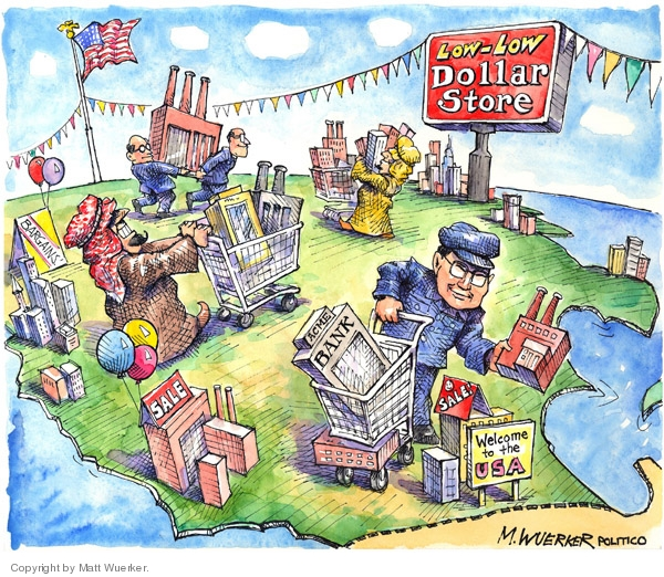 Matt Wuerker  Matt Wuerker's Editorial Cartoons 2008-03-01 trap