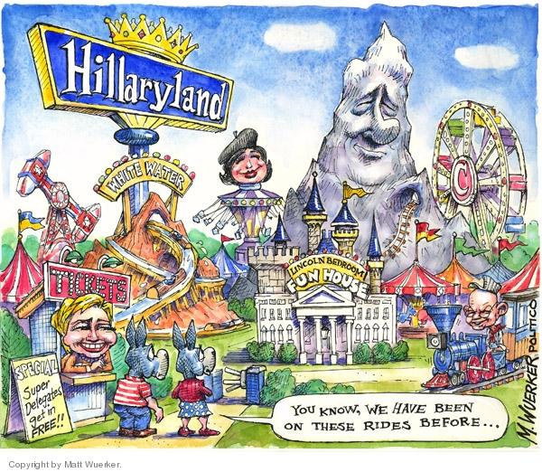 Matt Wuerker  Matt Wuerker's Editorial Cartoons 2008-03-11 Presidency