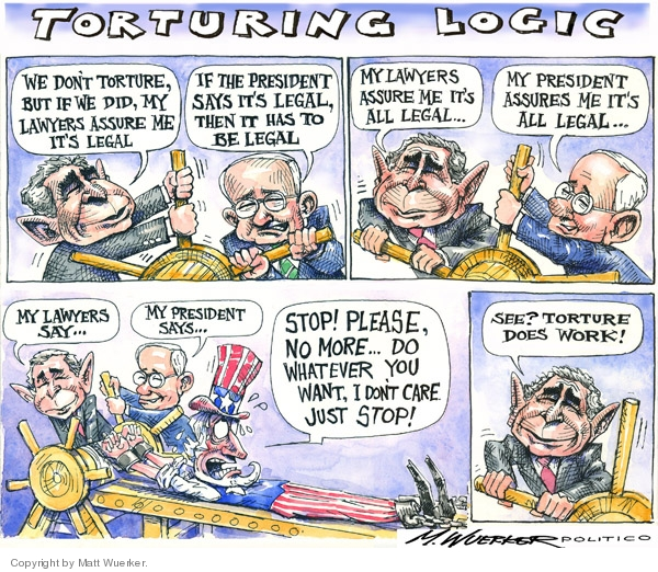 Matt Wuerker  Matt Wuerker's Editorial Cartoons 2008-03-12 torture