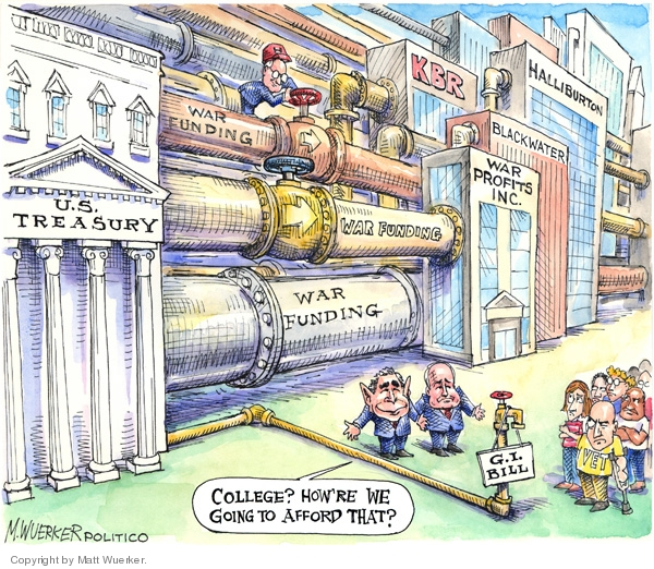 Matt Wuerker  Matt Wuerker's Editorial Cartoons 2008-06-04 Cheney Halliburton