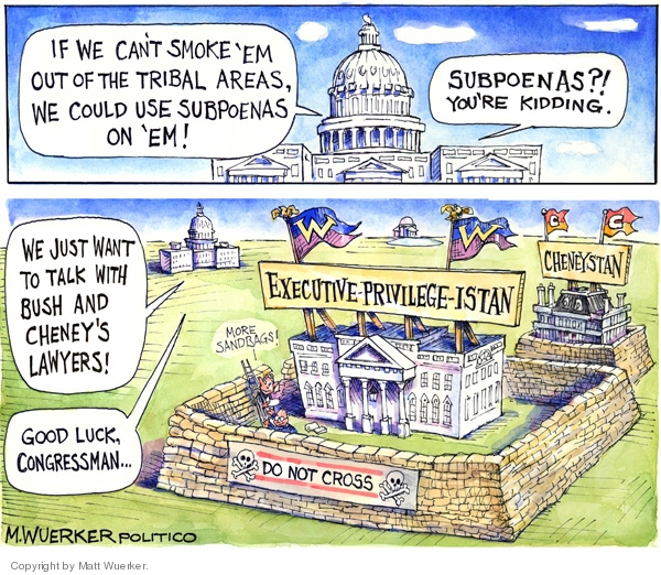 Matt Wuerker  Matt Wuerker's Editorial Cartoons 2008-05-07 branch of government