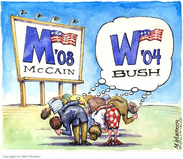 Matt Wuerker  Matt Wuerker's Editorial Cartoons 2008-06-10 2004 election