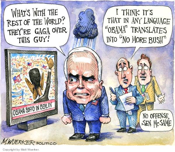 Cartoonist Matt Wuerker  Matt Wuerker's Editorial Cartoons 2008-07-29 similar