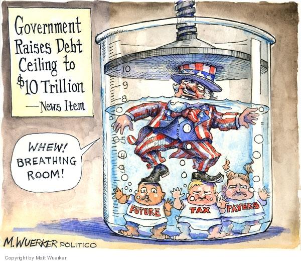 Cartoonist Matt Wuerker  Matt Wuerker's Editorial Cartoons 2008-07-30 government
