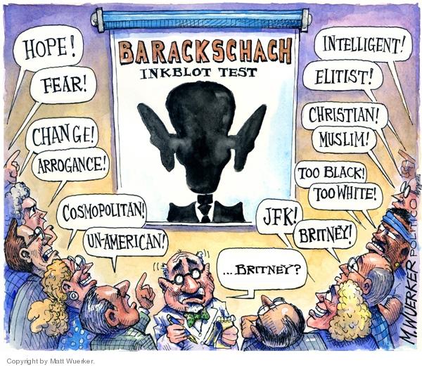 Matt Wuerker  Matt Wuerker's Editorial Cartoons 2008-08-01 racism