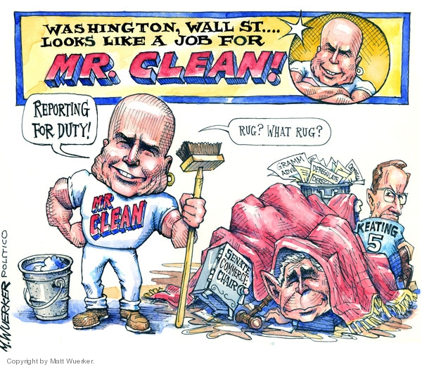Cartoonist Matt Wuerker  Matt Wuerker's Editorial Cartoons 2008-09-24 recession