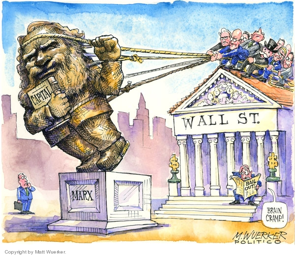Matt Wuerker  Matt Wuerker's Editorial Cartoons 2008-09-25 stock market