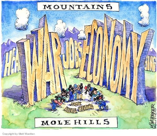 Cartoonist Matt Wuerker  Matt Wuerker's Editorial Cartoons 2008-10-10 religious leader
