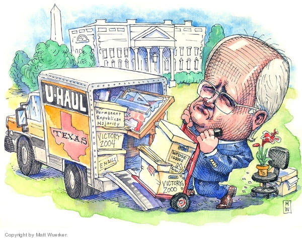 Cartoonist Matt Wuerker  Matt Wuerker's Editorial Cartoons 2007-08-14 Texas