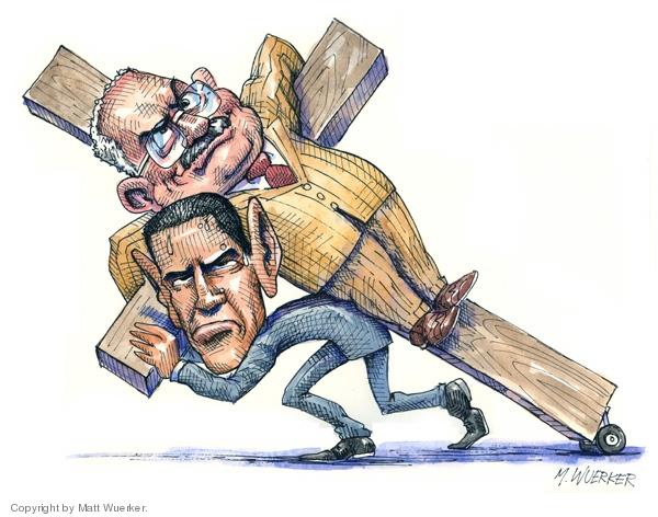 Cartoonist Matt Wuerker  Matt Wuerker's Editorial Cartoons 2008-04-29 religion