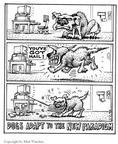 Cartoonist Matt Wuerker  Matt Wuerker's Editorial Cartoons 2002-00-00 mailman