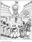 Cartoonist Matt Wuerker  Matt Wuerker's Editorial Cartoons 2002-00-00 stadium