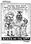 Cartoonist Matt Wuerker  Matt Wuerker's Editorial Cartoons 2001-06-04 commercialism
