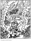 Cartoonist Matt Wuerker  Matt Wuerker's Editorial Cartoons 2004-04-29 2001